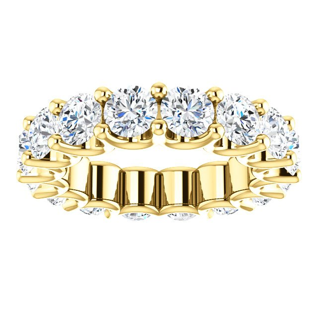 Item # SR128869525E View 3 - 18K Eternal-Love Eternity Band. 5.25CT