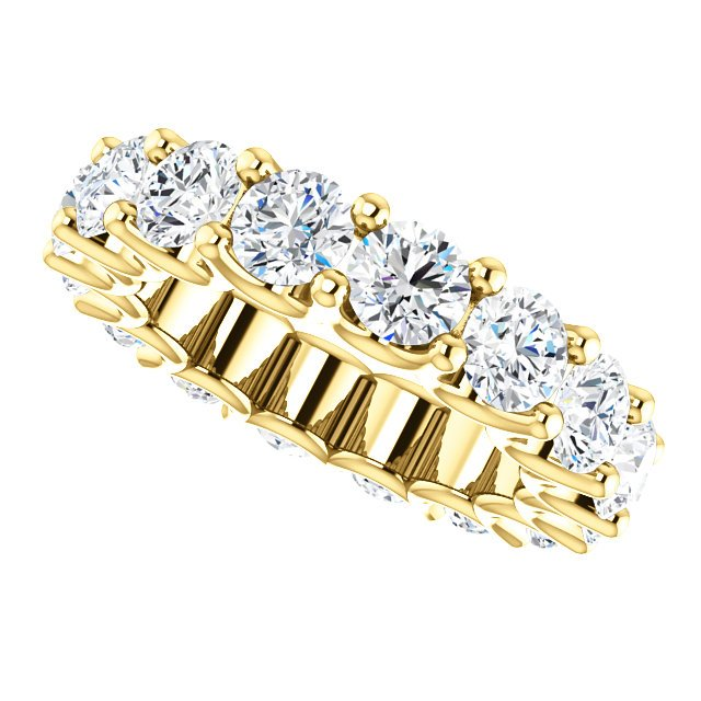 Item # SR128869525E View 5 - 18K Eternal-Love Eternity Band. 5.25CT