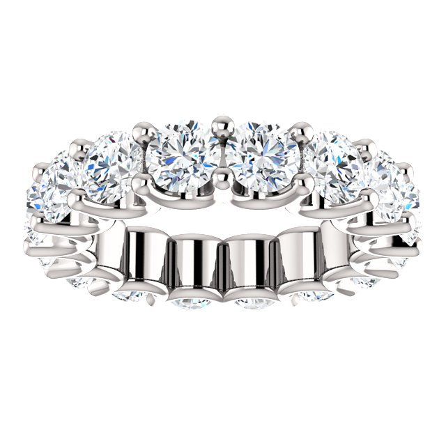 Item # SR128869525PP View 3 - Eternal-Love Platinum Eternity Band. 5.25CT