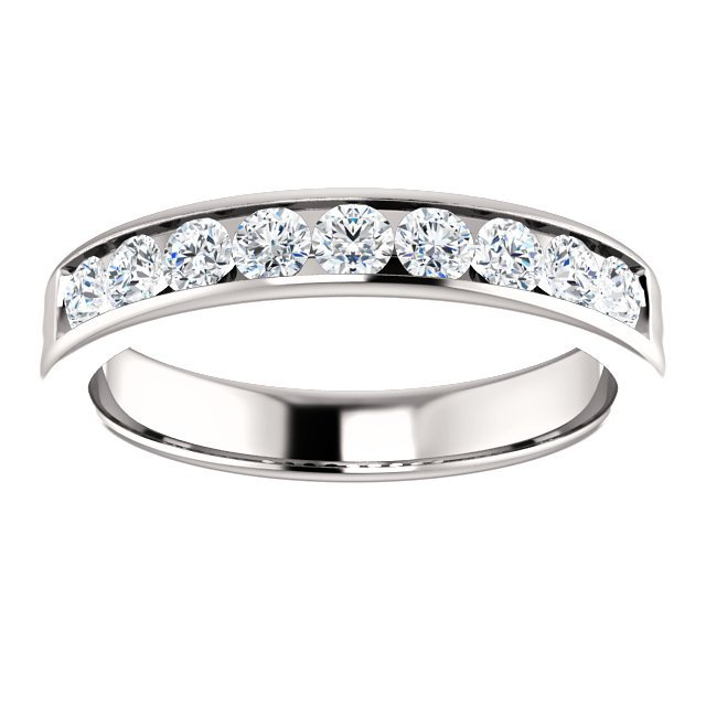 Item # SR9128811W View 3 - 14K Diamond Wedding Ring 1.0CT