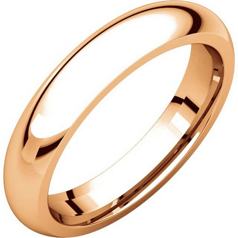 Item # VH123804RE - 18 K gold, 4.0 mm wide, heavy comfort fit, wedding ring. The finish on the ring is polished. Other finishes may be selected or specified.