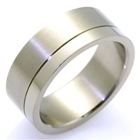Item # WB7665TI - Titanium Wedding Band
