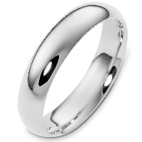 Item # XH123815AG - Silver-925 Comfort Fit  Wedding Band