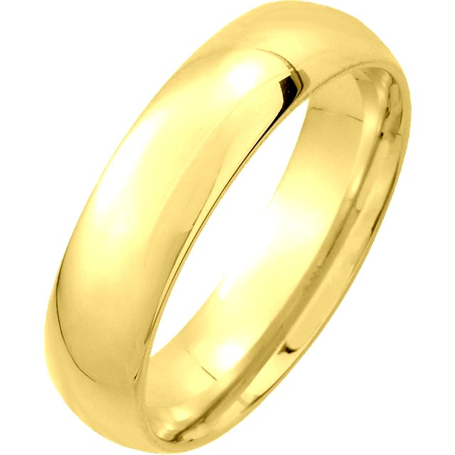 Item # XM123815 - 14K gold, 5.0 mm wide, comfort fit, wedding band. The finish on the ring is polished. Other finishes may be selected or specified.