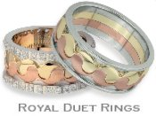 Royal Duet Wedding Bands
