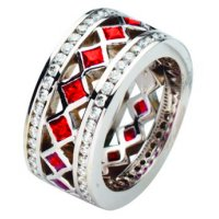 Ruby Wedding Rings Bands