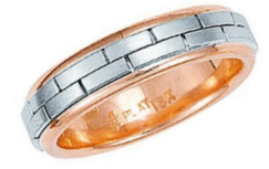 Platinum Hand-Crafted Wedding Rings