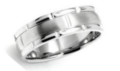 Menu0027s Platinum Wedding Bands