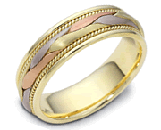 Hand-Crafted Wedding Bands