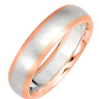 ComfortFit wedding rings