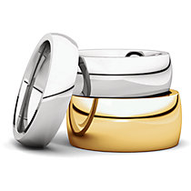 Heavy Comfort Fit Wedding Bands