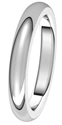 3mm Very Heavy Comfort Fit Wedding Bands