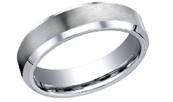 Men's Cobalt Chrome Wedding Bands