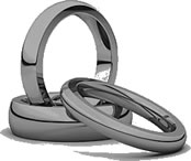 Comfort Fit Wedding Bands