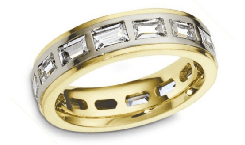 Anniversary 18K Gold Rings
