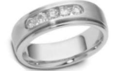 Platinum Menu0027s Wedding Bands