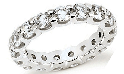 Palladium Diamond Wedding Bands