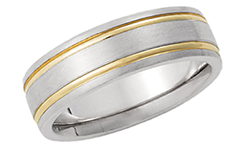 14K Classic Wedding Bands