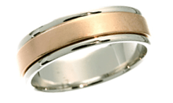 18K Classic Wedding Bands
