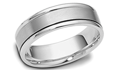 Platinum wedding bands image