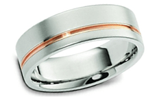 Modern wedding rings