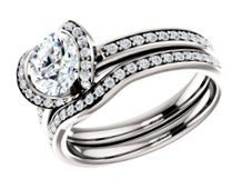 Side Stone Engagement Rings image