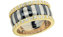 Gold eternity band image