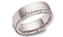 Palladium eternity bands image