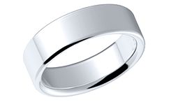 wedding bands plain