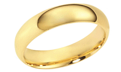 18 gold kt ring wedding