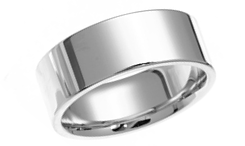wedding rings plain
