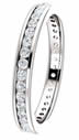 0.50CT Diamond Eternity Band Channel Set