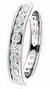 1.00CT Diamond Eternity Band Channel Set