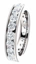 2.10CT Diamond Eternity Band Channel Set