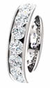 4.50CT Diamond Eternity Band Channel Set